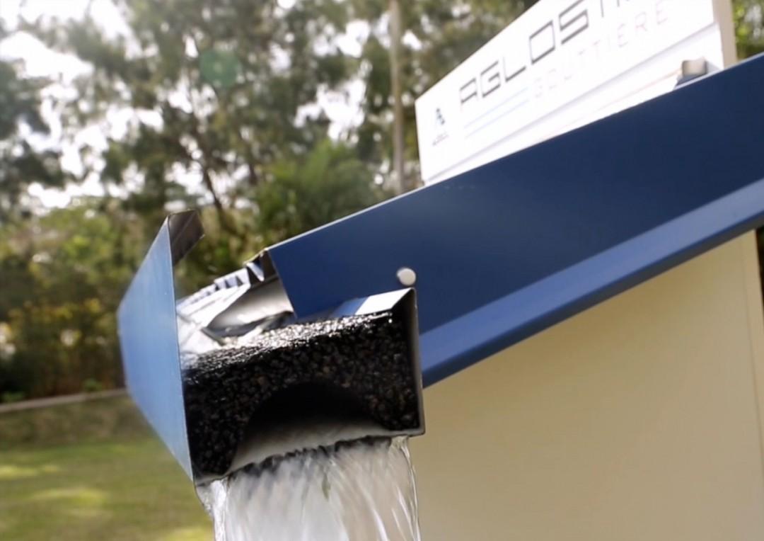AGLOSTIC®, le filtre écologique et permanent qui ne laisse passer que l'eau