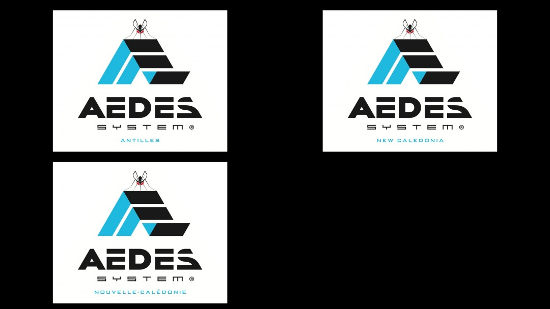 Aedes System ® logo (by location)